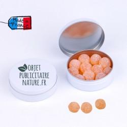 Boîte bonbons personnalisable 50mm 16 Gr - Perle de miel