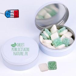 Boîte de bonbons personnalisable 75mm 50Gr - Bonbons à l'anis