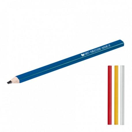 Crayon de charpentier ou menuisier publicitaire personnalisé