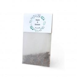 Sachet de graines personnalisable papier calque et cavalier