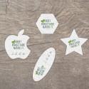Carte à graines à planter personnalisable forme libre