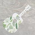 Carte ensemencée personnalisable forme de guitare