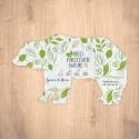 Carte ensemencée personnalisable forme d'ours
