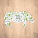Carte ensemencée personnalisable forme de rhinocéros