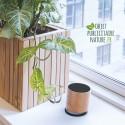 Enceinte en bois d'érable personnalisable gravure laser Bluetooth 3W