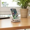 Support téléphone portable personnalisé en béton