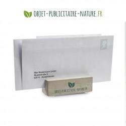 Porte carte / Porte lettre / Presse papier en béton personnalisé
