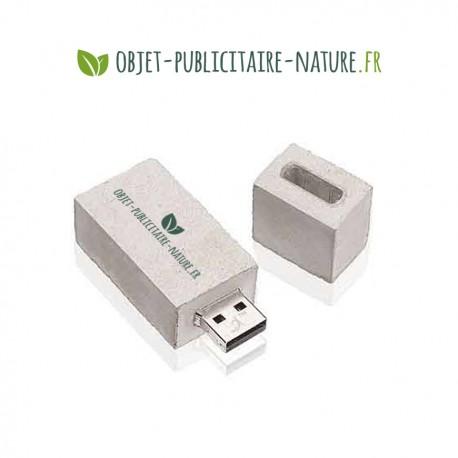 Clé USB en béton personnalisable classique