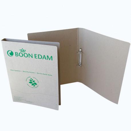Classeur A4 personnalisable en carton recyclé