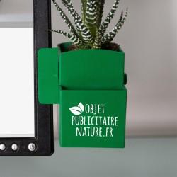 Plante publicitaire ordinateur pot personnalisable