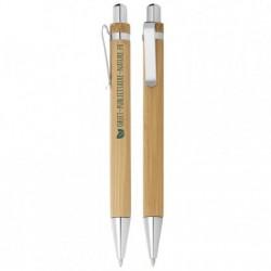 Stylo publicitaire personnalisable en bambou