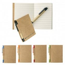Bloc-notes publicitaire personnalisable avec stylo