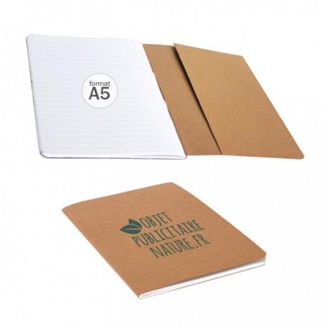 Carnet A5 publicitaire personnalisable