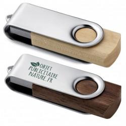 Clé USB publicitaire en bois personnalisable