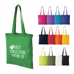 Sac shopping publicitaire couleur personnalisable anses longues