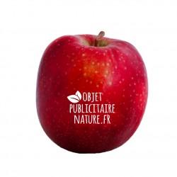 Pomme publicitaire personnalisée à l'encre alimentaire