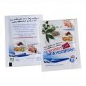 Sachet publicitaire d'épices bio 100x150mm personnalisable