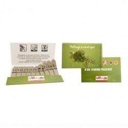 Pochette de 10 bâtonnets de graines à planter en étui personnalisable