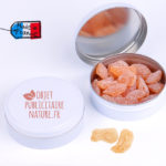 Boîte bonbons personnalisable miel pin