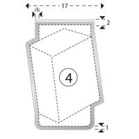 Trombones personnalisés aXionclip forme 4