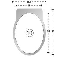 Trombones personnalisés aXionclip forme 10
