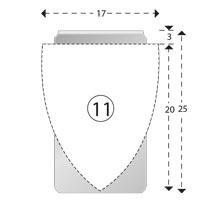 Trombones personnalisés aXionclip forme 11