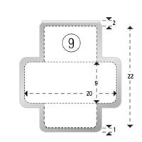 Trombones personnalisés aXionclip forme 9