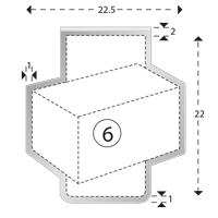 Trombones personnalisés aXionclip forme 6