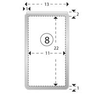 Trombones personnalisés aXionclip forme 8