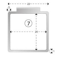 Trombones personnalisés aXionclip forme 7