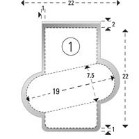 Trombones personnalisés aXionclip forme 1