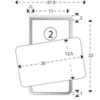 Trombones personnalisés aXionclip forme 2