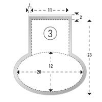 Trombones personnalisés aXionclip forme 3