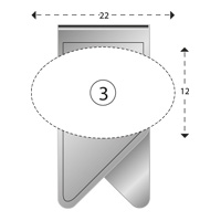 Trombone personnalisé Winclip forme 3