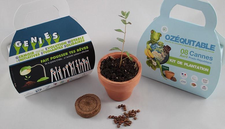 Kit de plantation publicitaire personnalisable